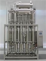 南京电加热双管板内螺旋多效蒸馏水机