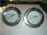 制冷机用冷媒压力表