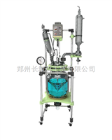 GR-20双层玻璃反应釜GR-20 double-layer glass reaction kettle