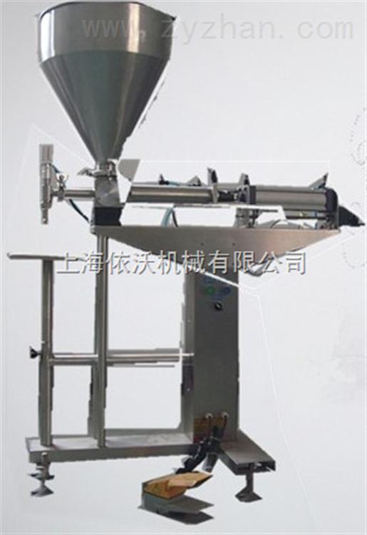 半自动立式膏体灌装机