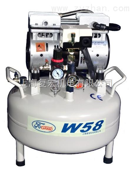 安庆无油压缩机厂_W58-供应复宏无油空气压缩机W58-上海复宏机电有限公司