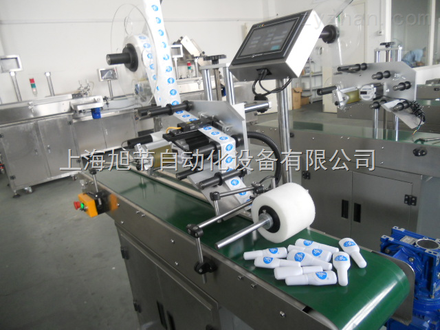 上海旭节专业制造眼药水瓶贴标机设备 不干胶贴标机
