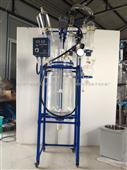 玻璃反应釜/反应釜/双层玻璃反应釜:50L防爆系列反应釜