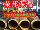 钢套钢聚氨酯架空保温管