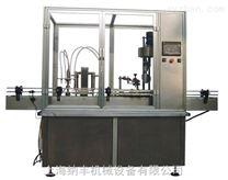 液体灌装旋(轧)盖机用途
