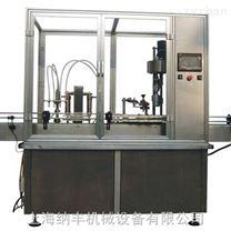直线活塞液体灌装轧盖机