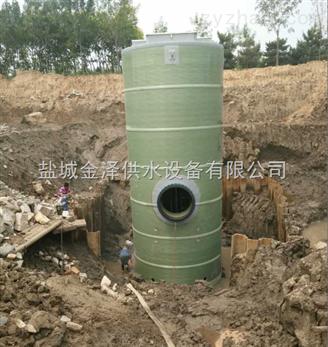云南蒙自一体化提升泵站玻璃钢泵站厂家定做