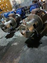 高剪切均質乳化泵安裝