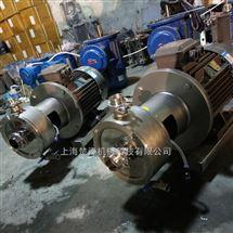 高剪切均质乳化泵安装