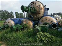 出售二手10立方蒸汽加热不锈钢反应釜
