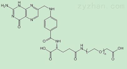 COOH-PEG-FA,羧基PEG叶酸,Folate-PEG-COOH的结构式及价格