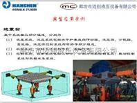 德国汉臣HANCHEN静压支撑油缸在地震台行业应用