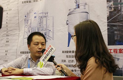 专访浙江新创兴科技有限公司销售经理孙伟